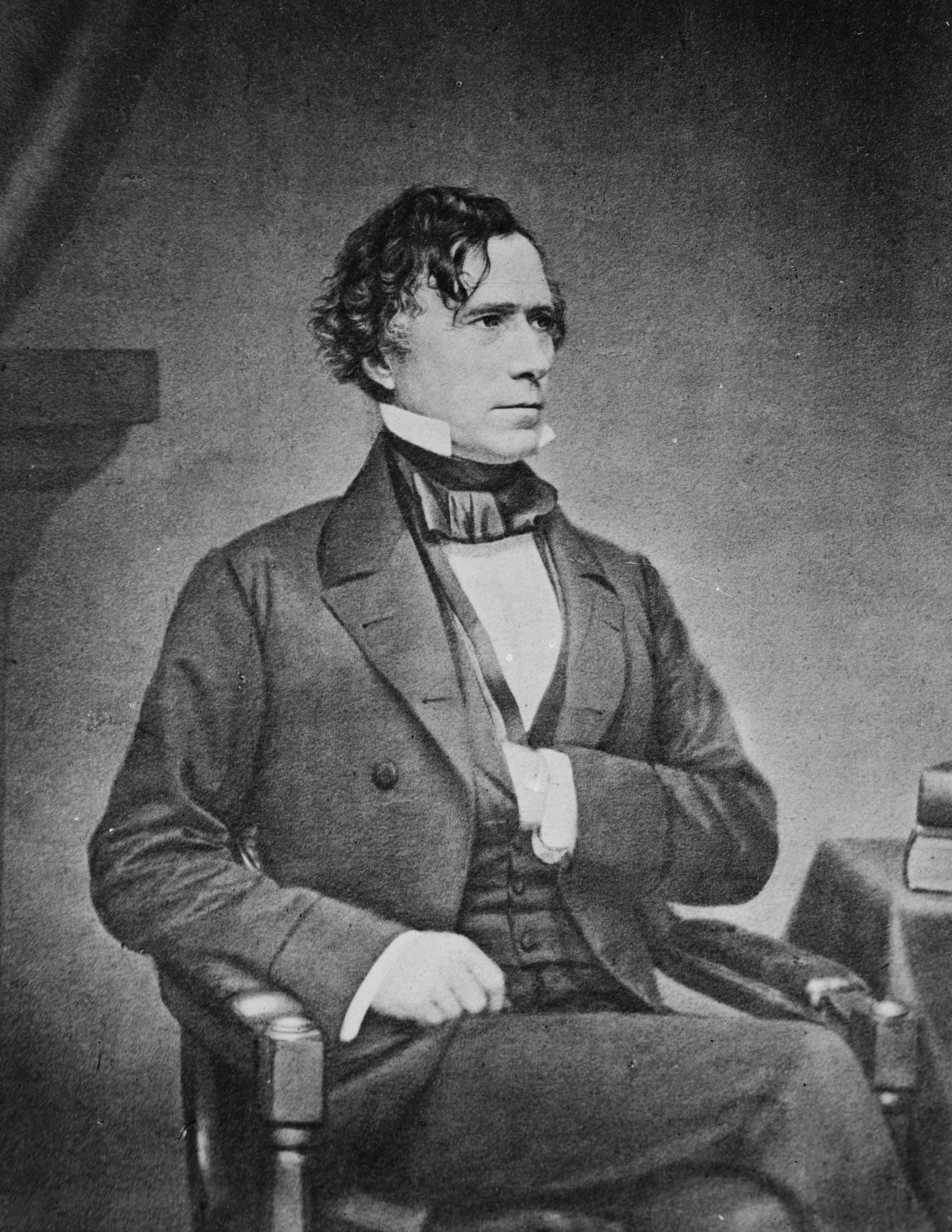 He was the 14th president of the United States, a northern Democrat who saw the abolitionist movement as a fundamental threat to the unity of the nation.