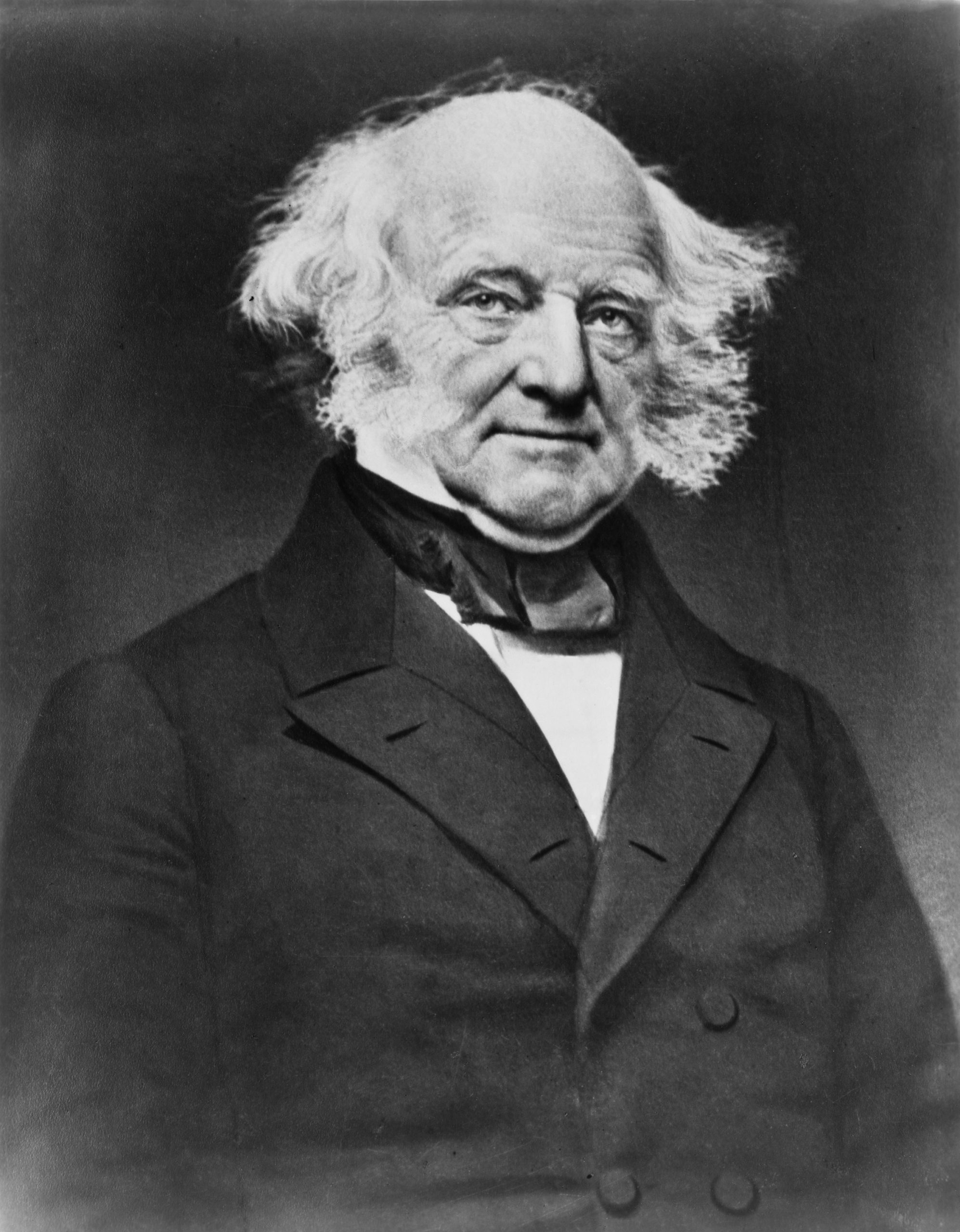 """He became known for being a shrewd politician. He earned the nicknames """"Little Magician"""" and the """"Red Fox"""" for his cunning politics. He was unable to get elected to a second term as president.  Served from 1837-1841."""