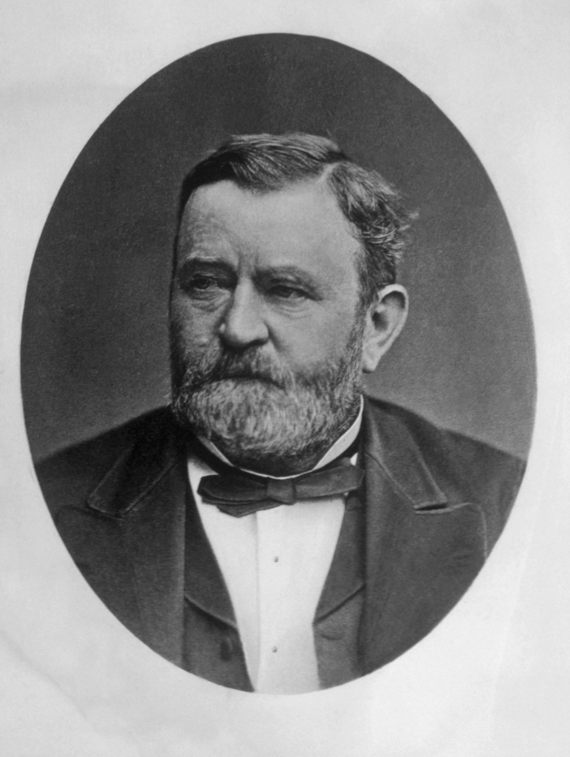 In 1865, as commanding general, he led the Union Armies to victory over the Confederacy in the American Civil War. As an American hero, he was later elected the 18th President of the United States (1869–1877), working to implement Congressional Reconstruction and to remove the vestiges of slavery.