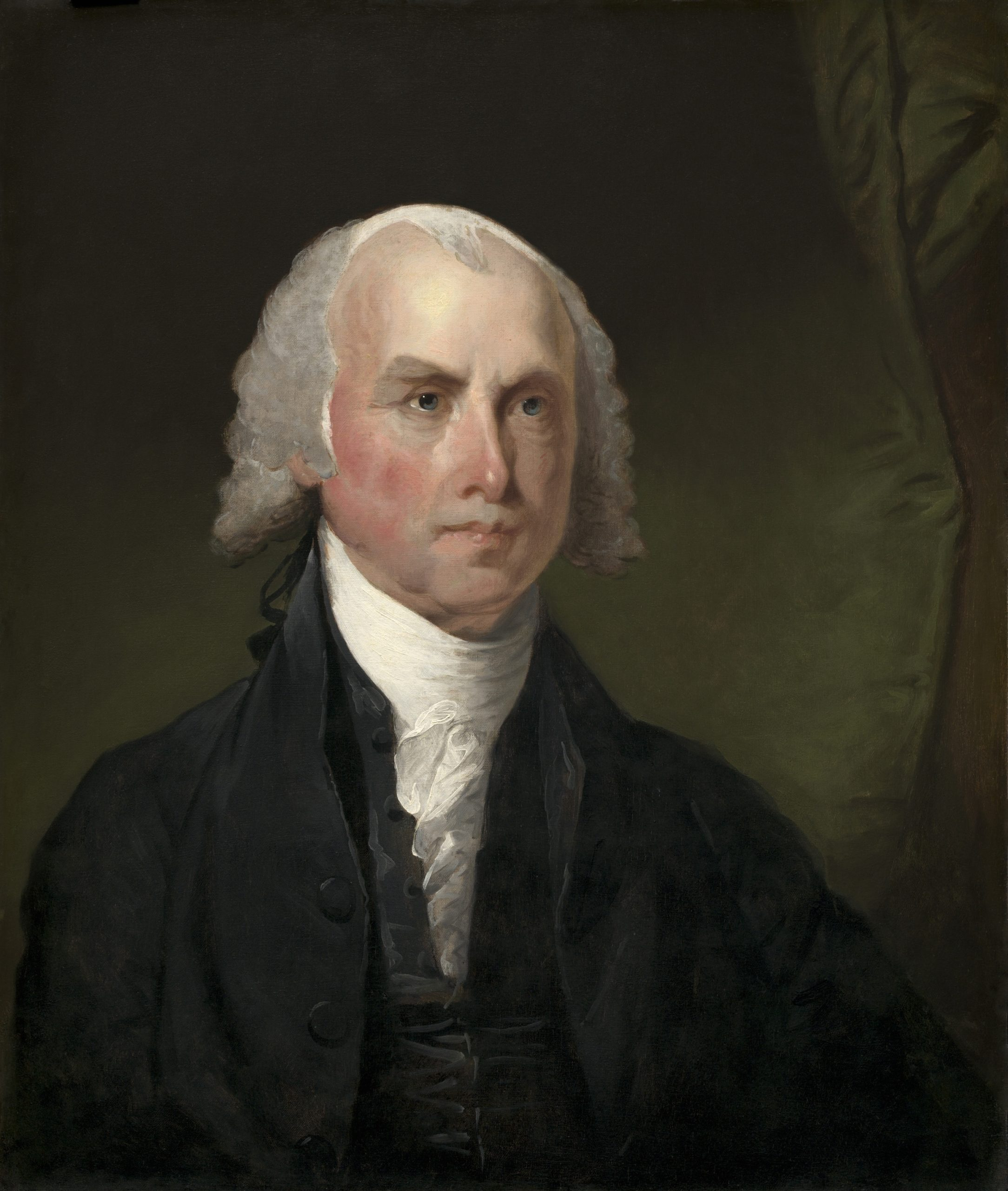 """4th President of the United States and in later years, he was referred to as the """"Father of the Constitution.""""  Served from 1809-1817."""