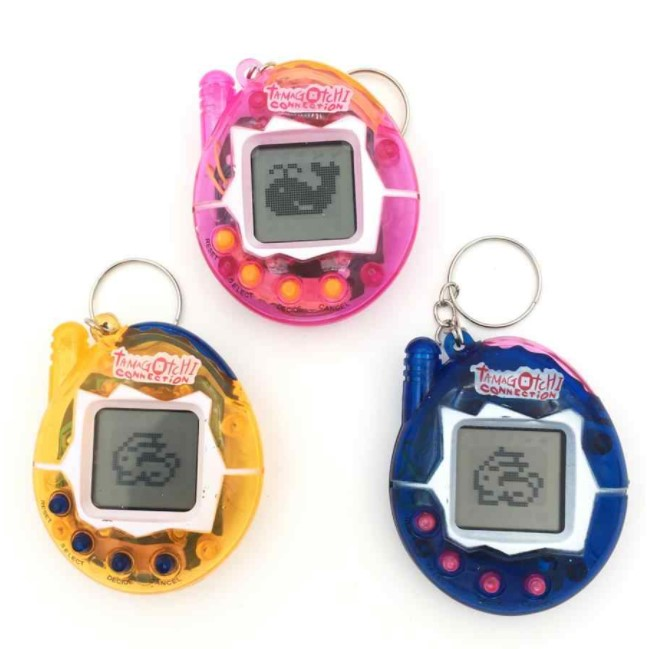 This was the coolest way to look after a pet back then.  What was that?  Game Boy