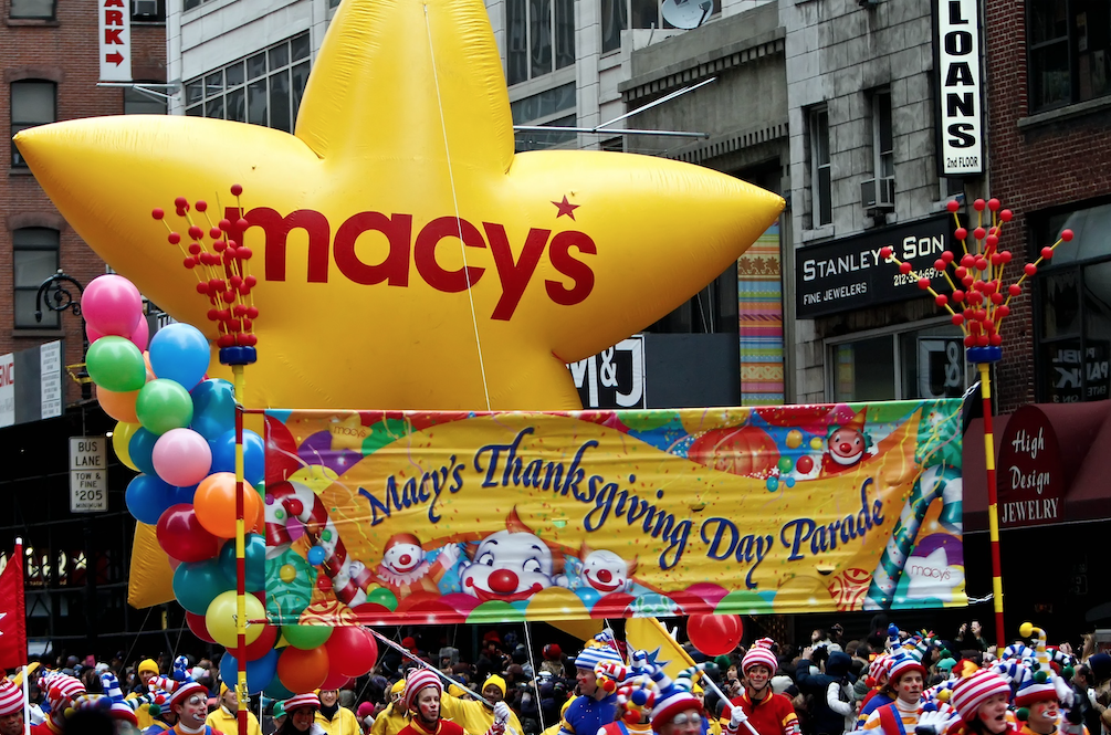 Where is the Macy's Thanksgivings Day Parade held?