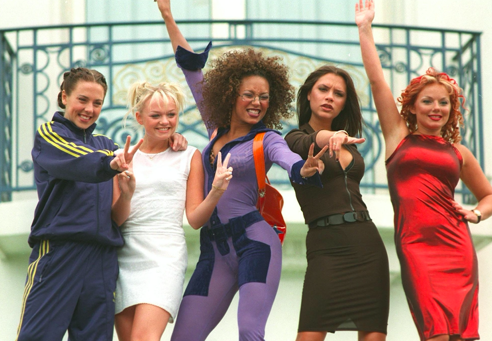 Which Spice Girl has a daughter named Bluebell Madonna?