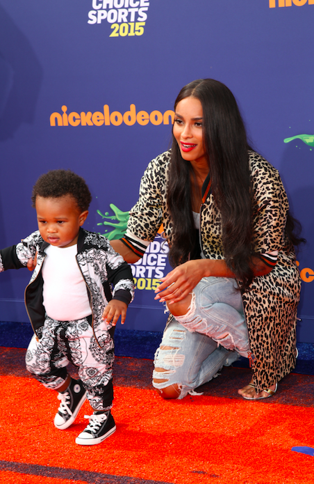 What is Rapper Ciara's son's name?