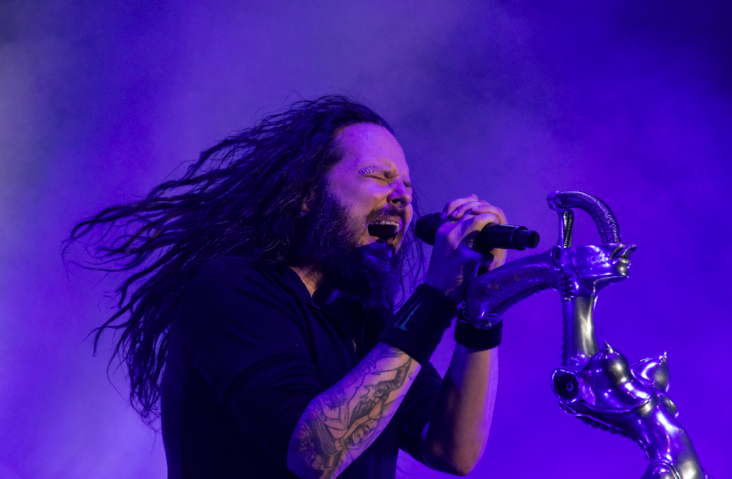 The Korn frontman named his son what different name?