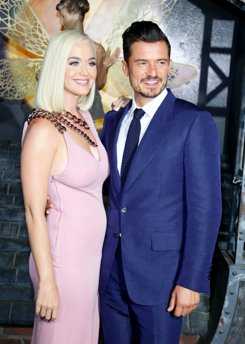 Katy Perry and Orlando Bloom had a daughter. What did they name her?