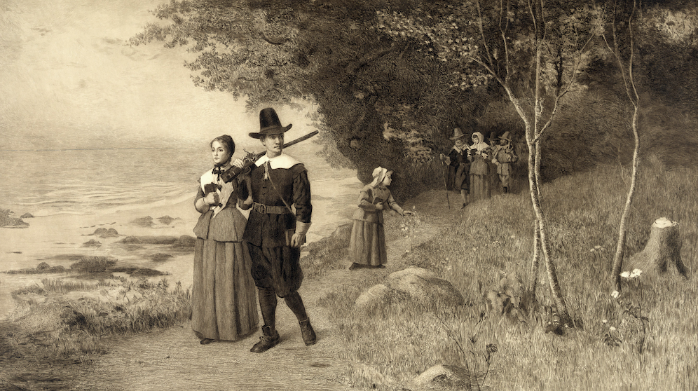 What was the original name for the pilgrims?