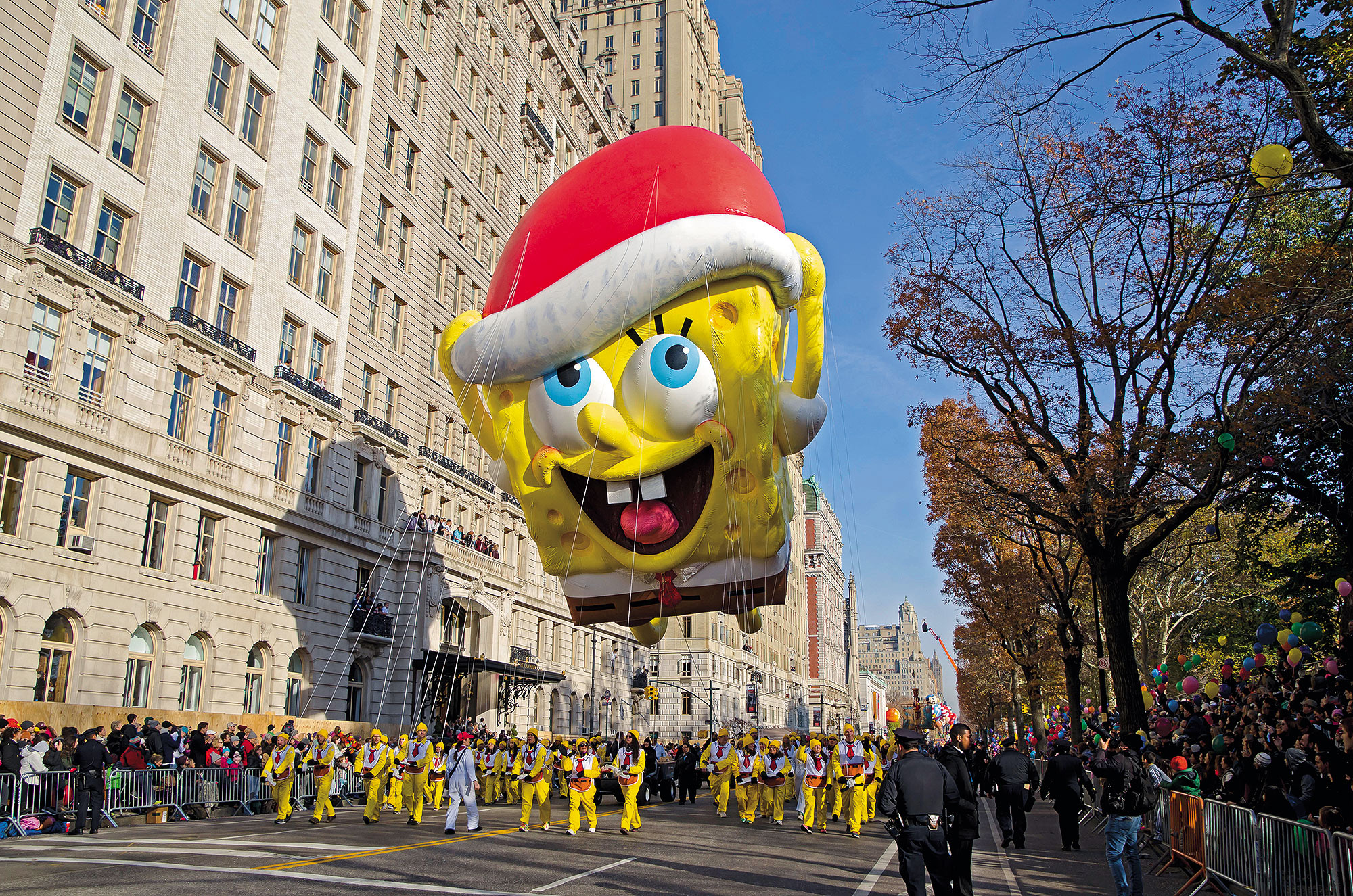 Which character has more appearances than any other as a Macy's Thanksgiving Day Parade balloon?