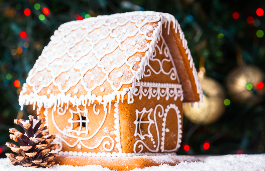 The gingerbread house was inspired by what famous fairy tale?