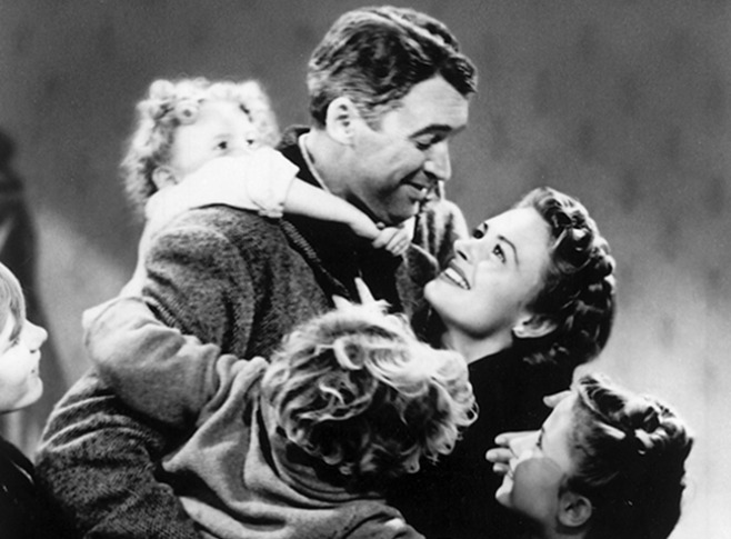 What happened every time a bell rang in the movie, It's a Wonderful Life?