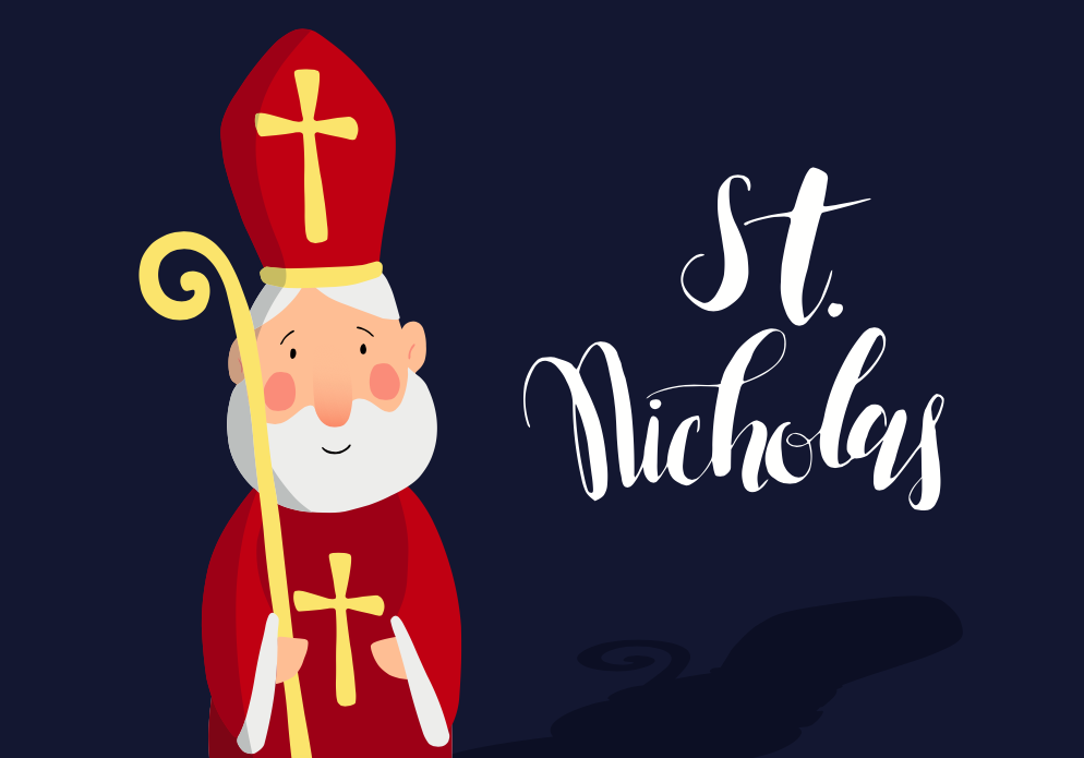 The original St. Nicholas was born in what country?