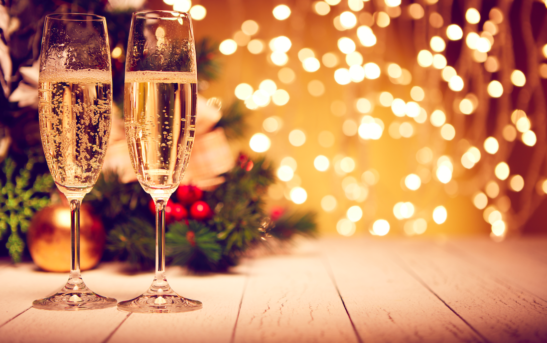 What is the top Christmas alcoholic beverage?