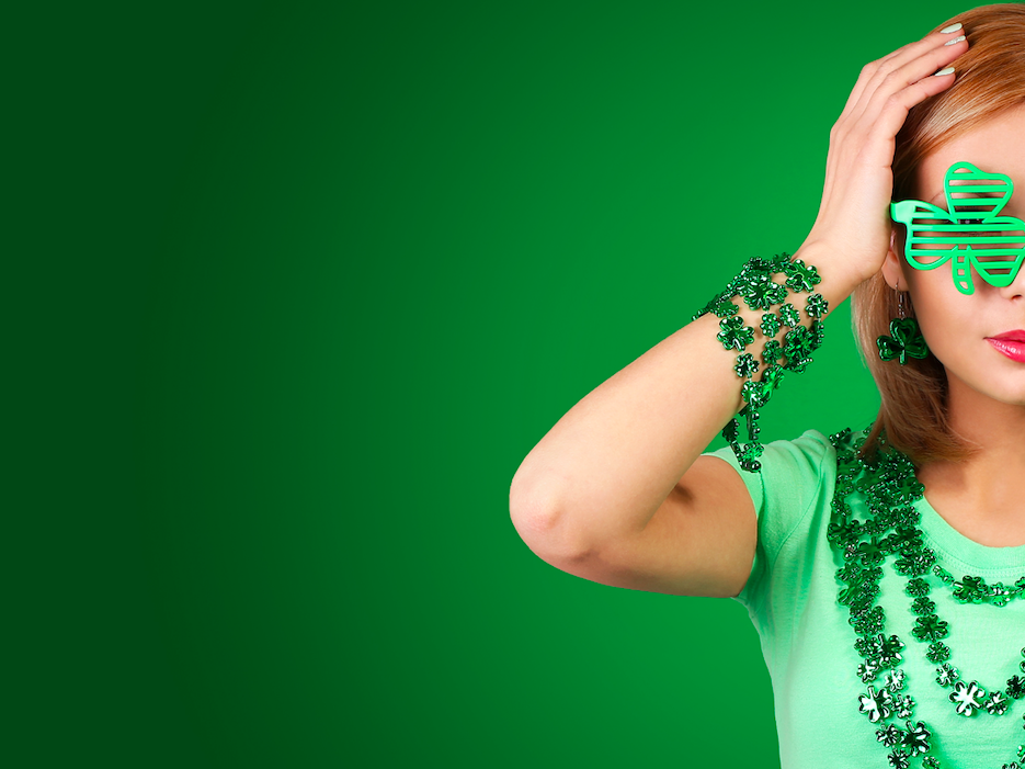 Wearing green on St. Patrick's Day is supposed to prevent you from what?