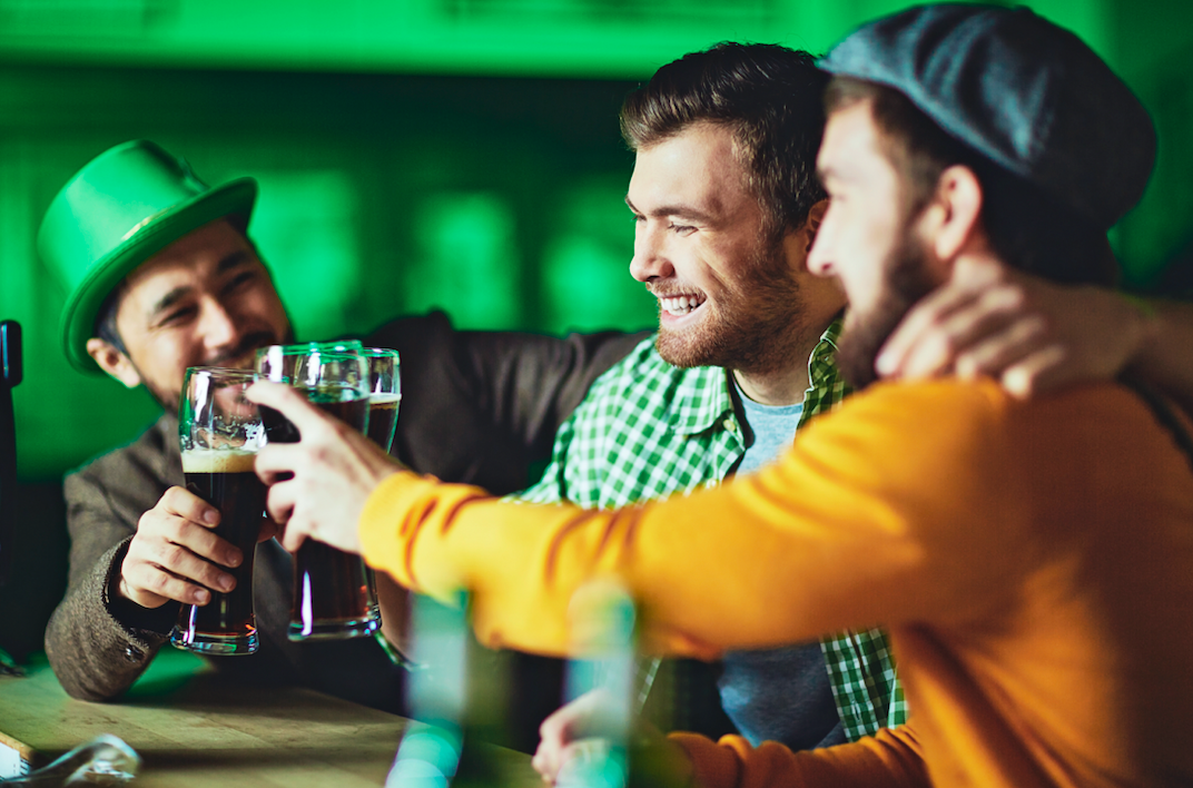 Why do people drink alcohol on St. Patrick's Day?