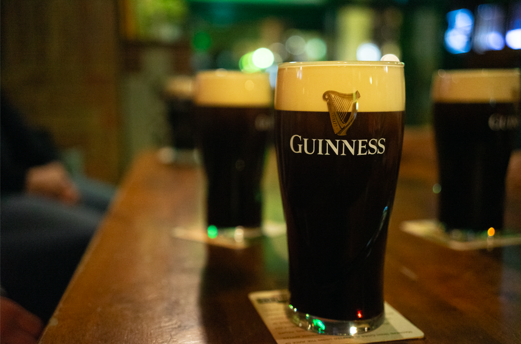 How many pints of Guinness are consumed in the world on St. Patrick's Day?