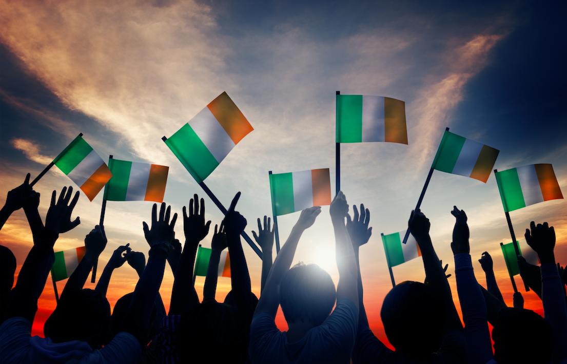 How many Americans claim to be Irish?