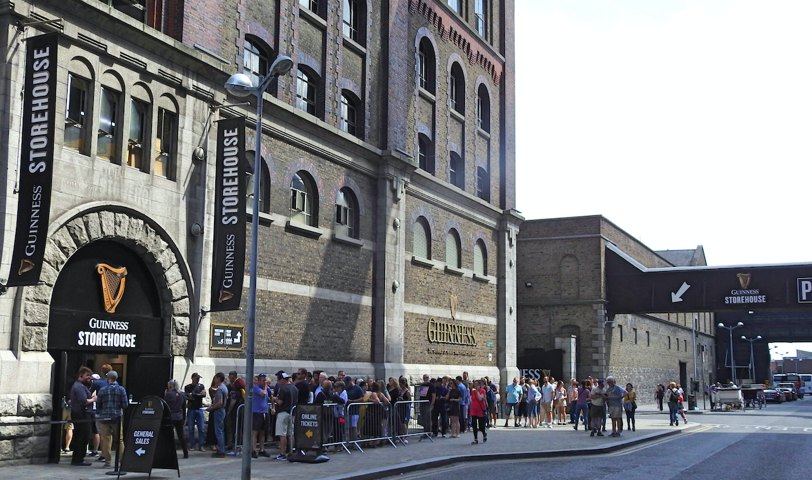 How long is the lease on the building that first invented Guinness?