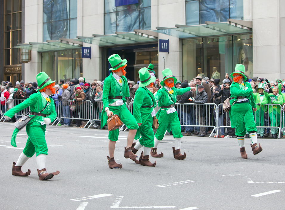 How long is the world's shortest St. Patrick's Day parade in Ireland?
