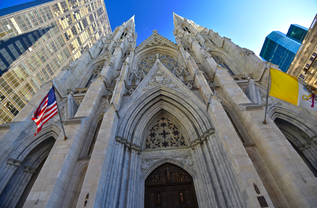 The United States is home to the famous St. Patrick's Cathedral in which city?