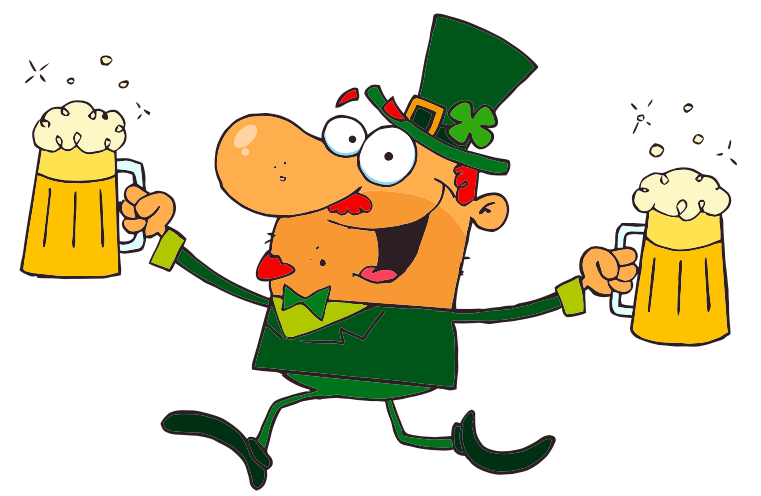 What type of Irish fairy has sometimes been described as a leprechaun on a drinking spree?