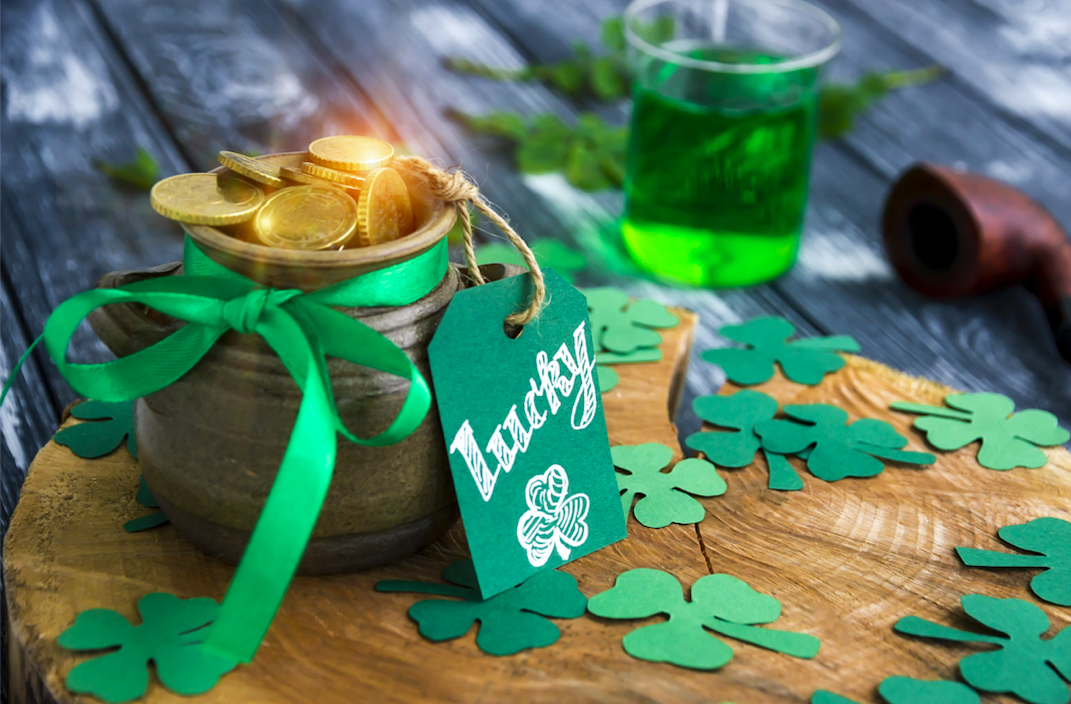 Why was St. Patrick's Day once celebrated in May instead of March?