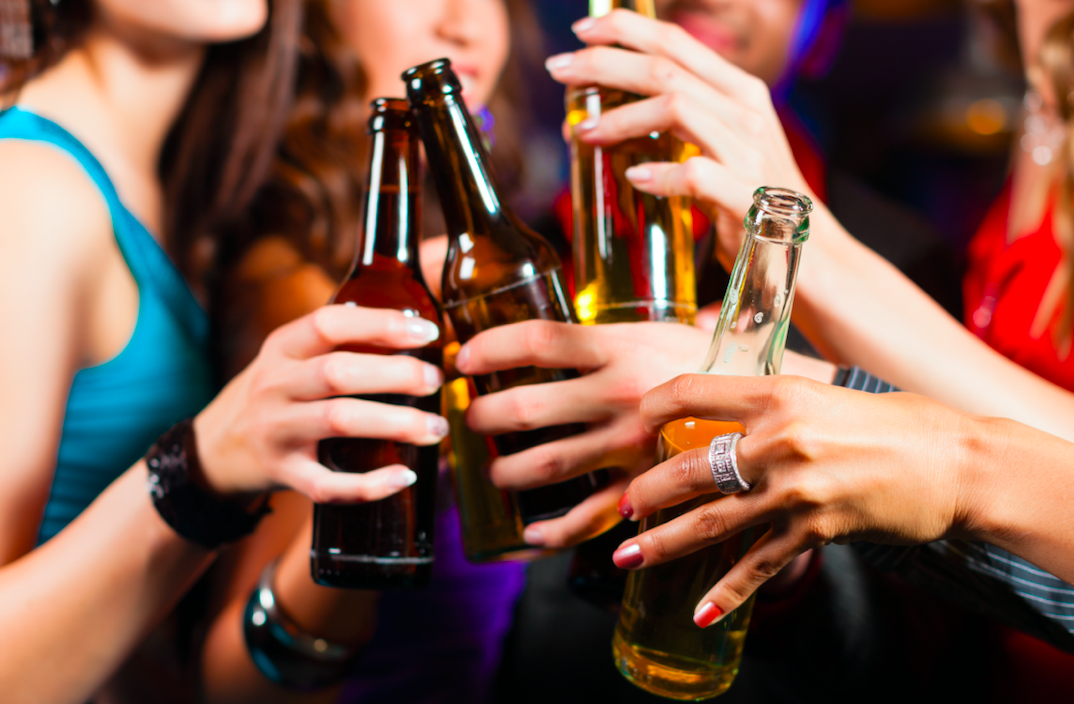 What is the biggest day for alcohol sales?