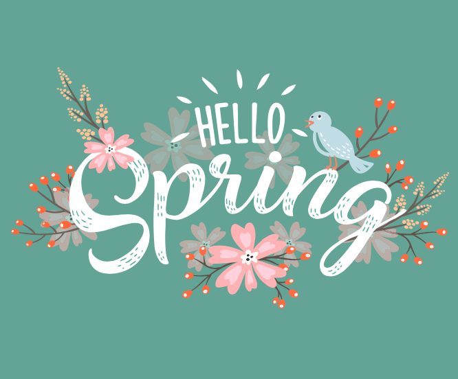 It's Time to Get Ready for Spring!
