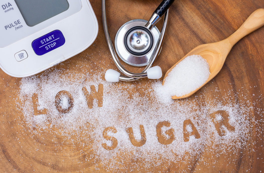 A low-sugar food should have how much sugar in it?