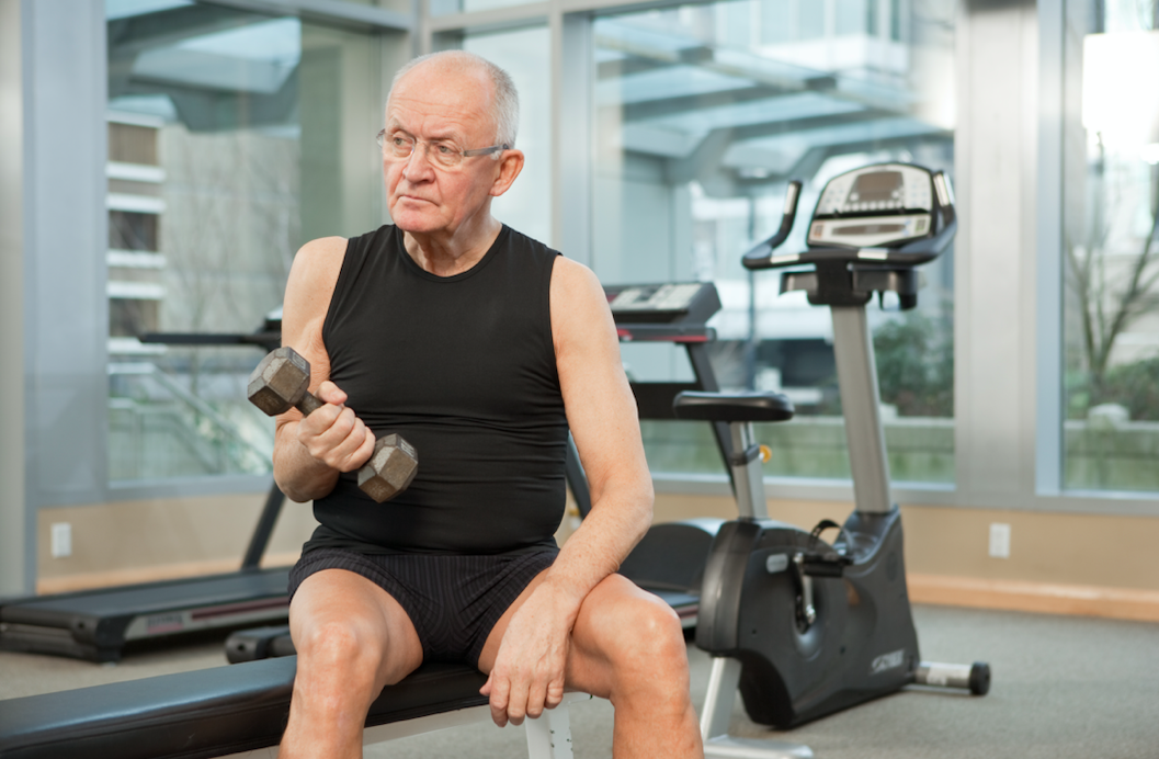 If you don't regularly exercise, you may lose up to what percent of your muscle strength by 65?