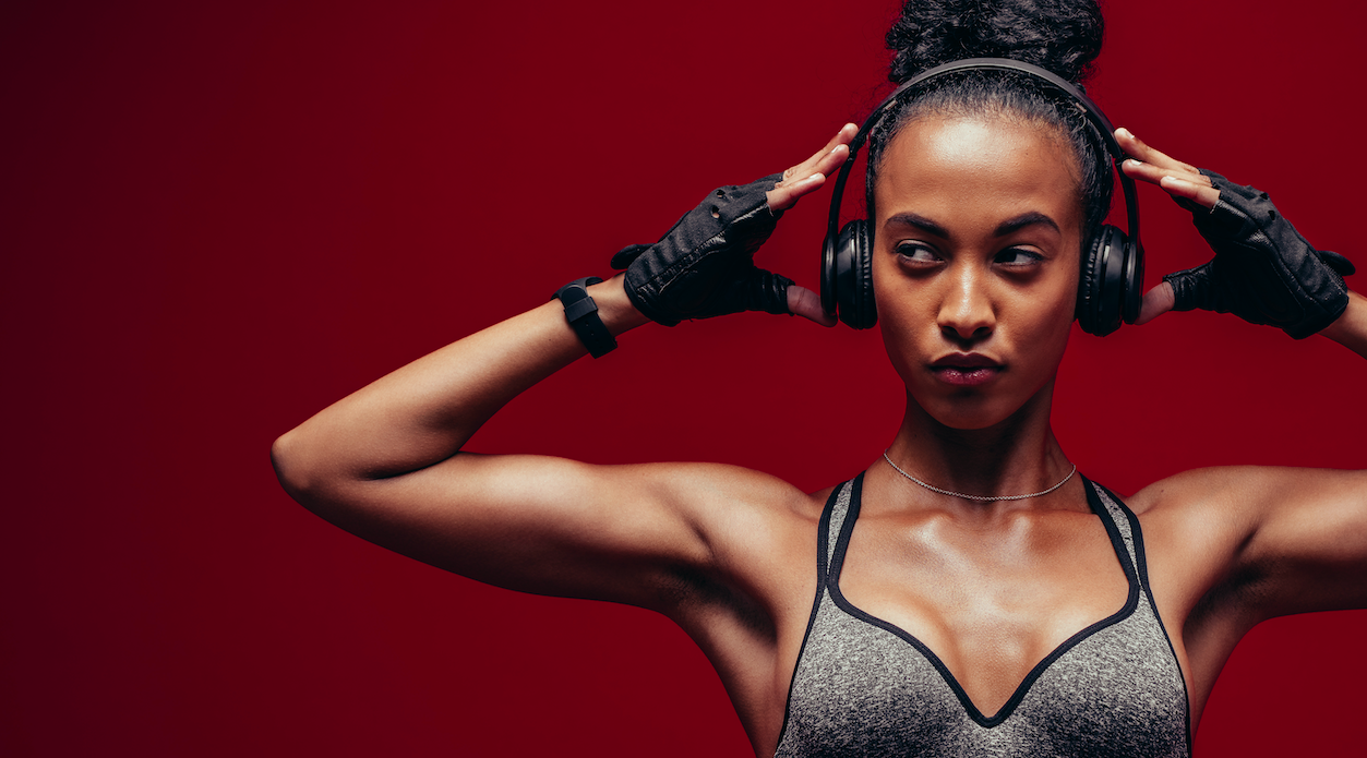 Music can do what with your workout?