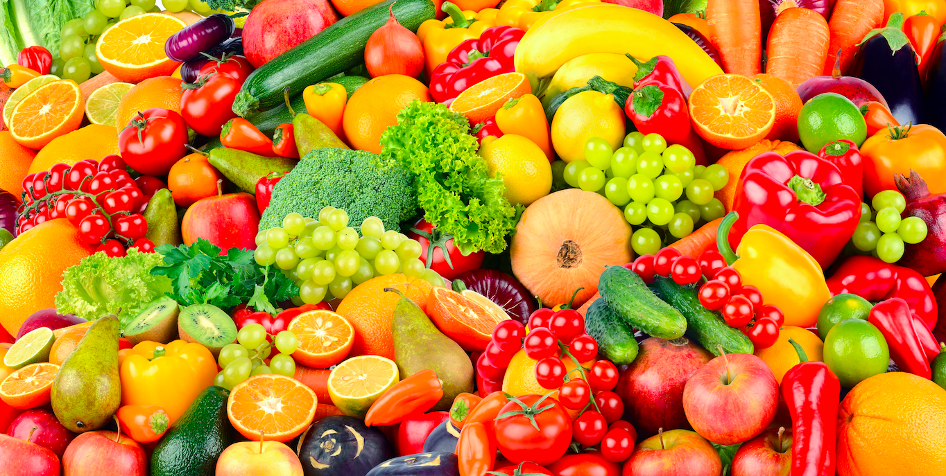 How many servings of fruit and vegetables should you have daily?
