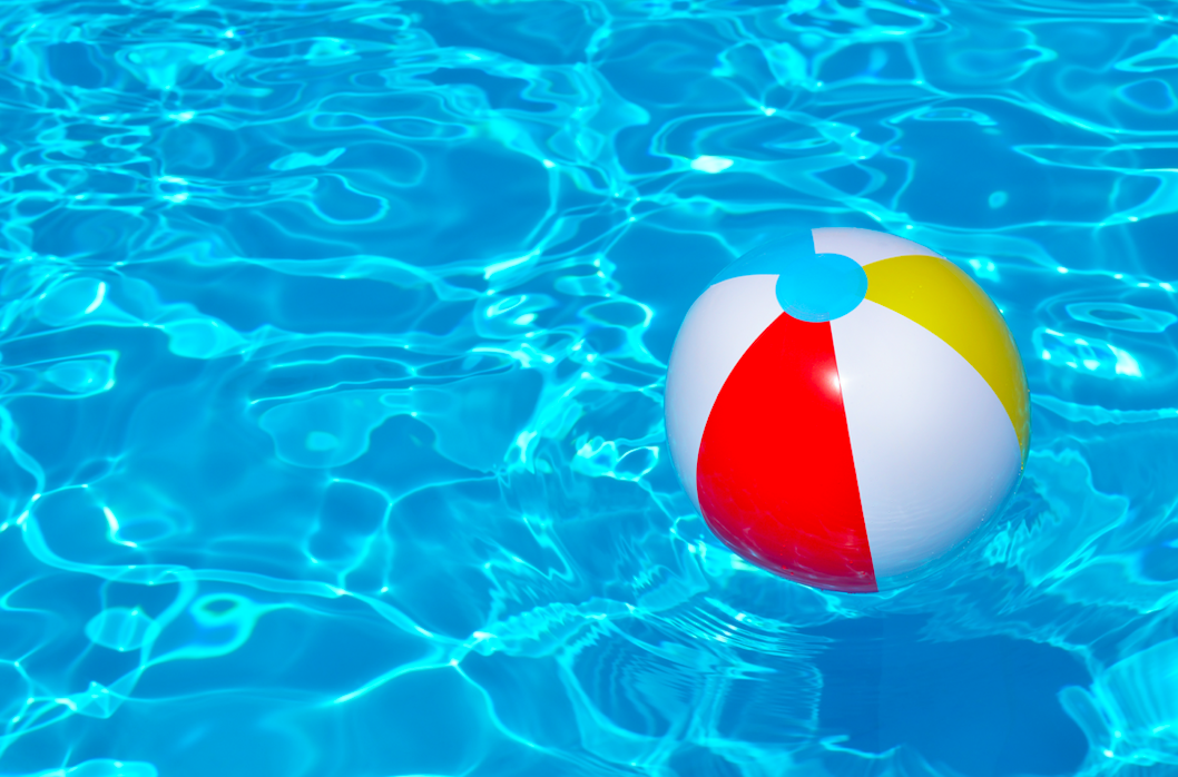 In which year was the beach ball invented?