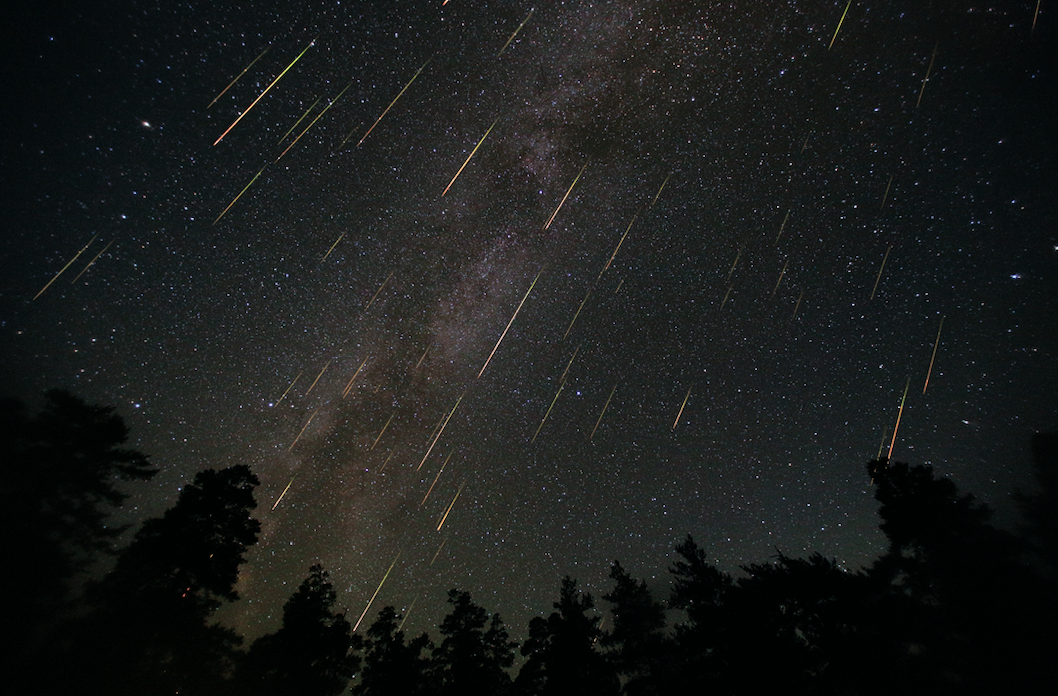 When do the most impressive meteor showers of the year happen?