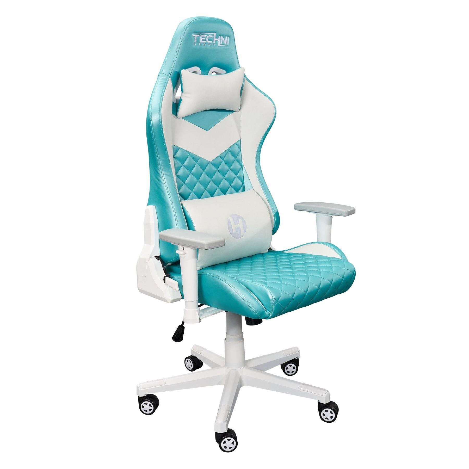 Techni Gaming Chairs Review: TS63 Aqua LUXX Series Gaming Chair