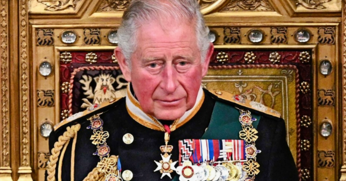 14. Who exits buildings first in the royal family?