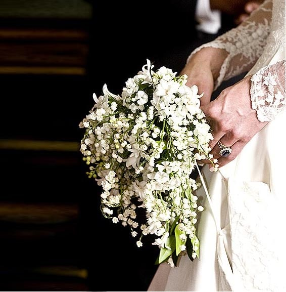 17. The Royal Wedding Bouquet is what kind of flower?