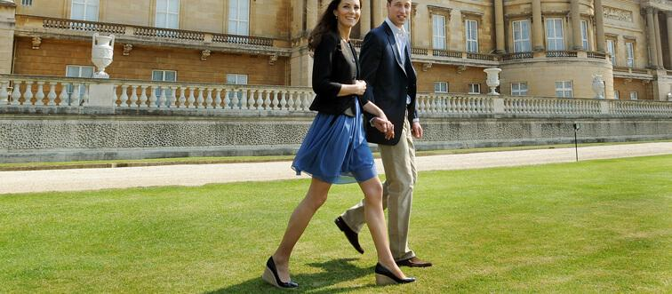 30. What does Kate Middleton wear that she isn't supposed to?