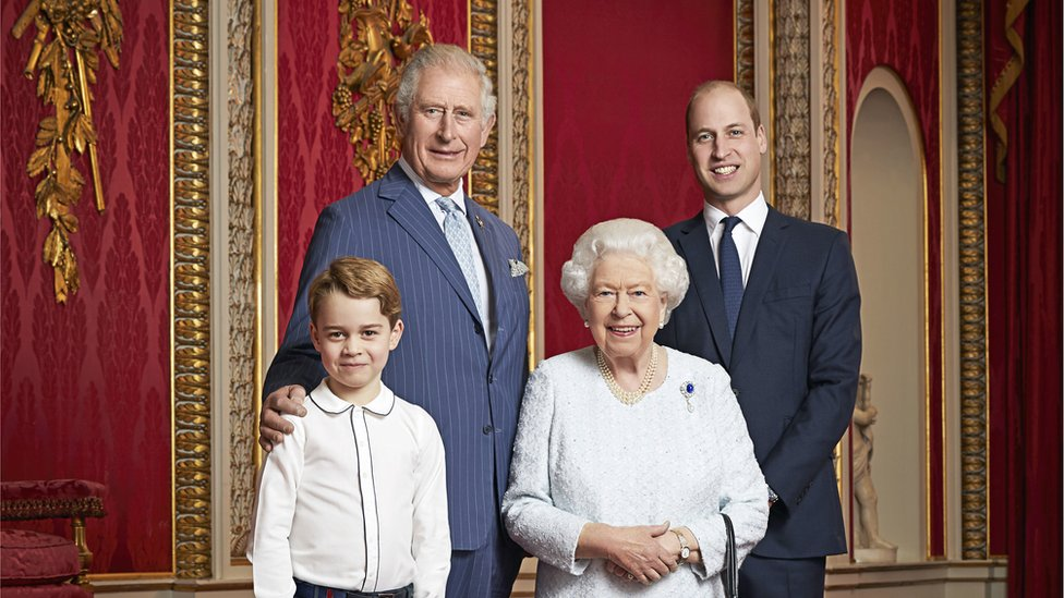 40. Who is the first to inherit the throne?